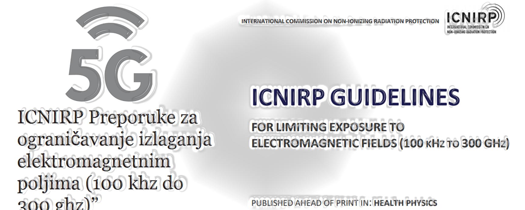 """Tragom """"Najnovije"""" studije Međunarodne komisije za zaštitu od nejonizujućeg zračenja (ICNIRP)"""